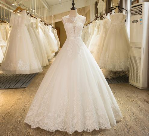 f739a000cc6 Свадебное платье с Алиэскпресс  дёшево и красиво ·. Свадебные платья ...